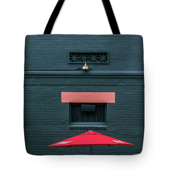 Geometric Illusion Tote Bag