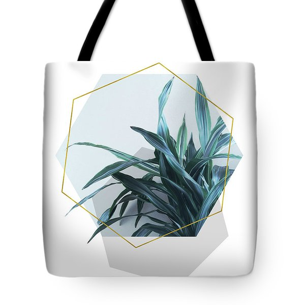 Geometric Jungle Tote Bag