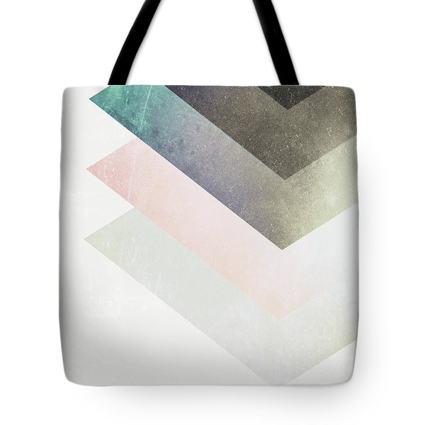 Geometric Layers Tote Bag