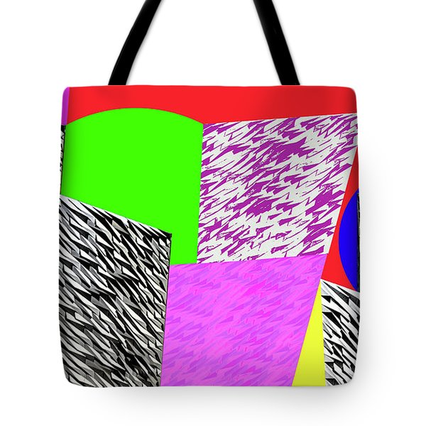 Geometric Shapes 1 Tote Bag by Bruce Iorio