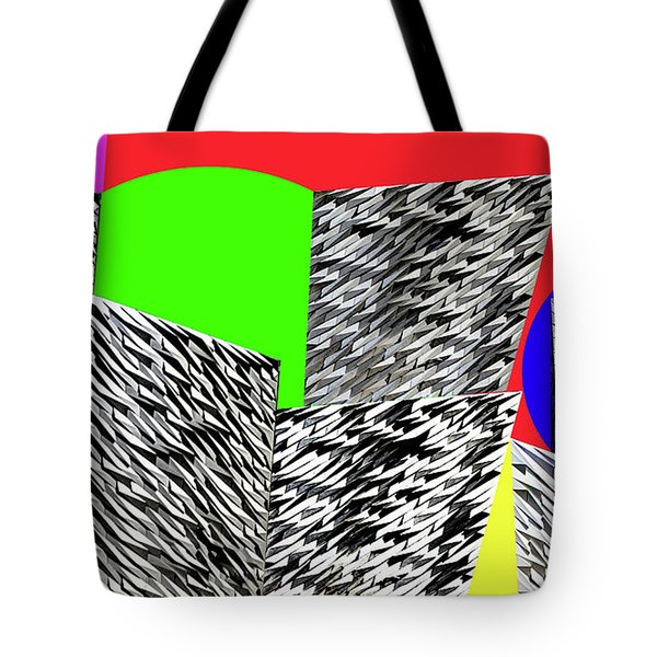 Geometric Shapes 3 Tote Bag by Bruce Iorio