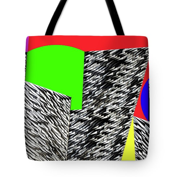Geometric Shapes 4 Tote Bag by Bruce Iorio
