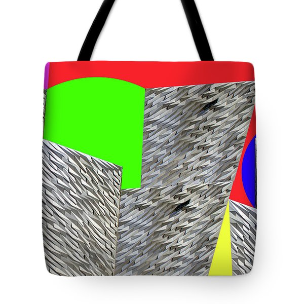 Geometric Shapes Tote Bag by Bruce Iorio