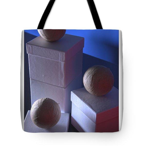 Geometric Triad Tote Bag