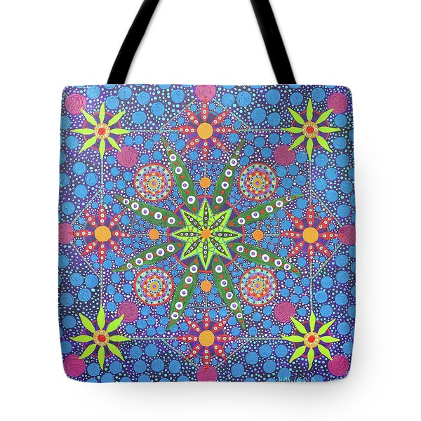 Geometry Of An Arkana Tote Bag