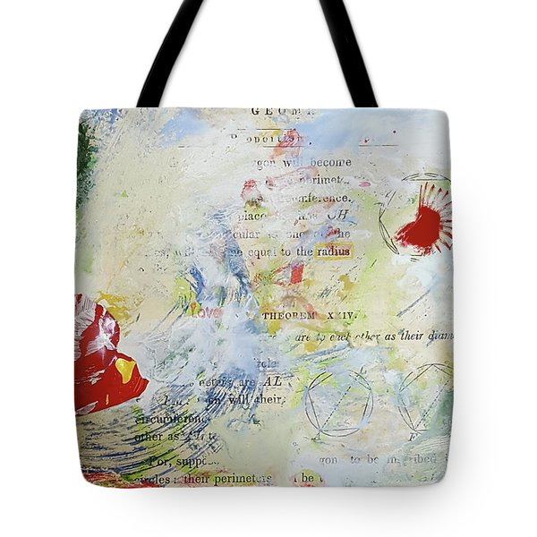 Geometry Of Desire Circles Tote Bag by Ann Tracy