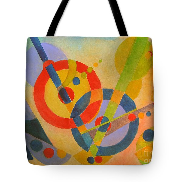 Geometry Tote Bag by Sandy McIntire