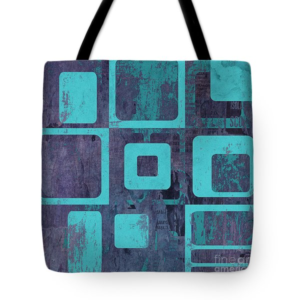 Geomix 02 - Sp06c6b Tote Bag by Variance Collections