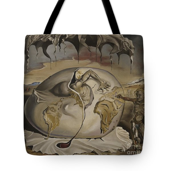Dali's Geopolitical Child Tote Bag