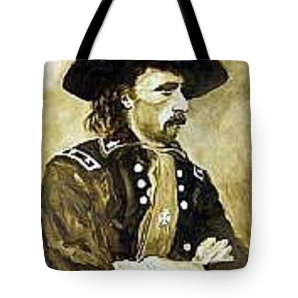 George Armstrong Custer Tote Bag by Kevin Heaney