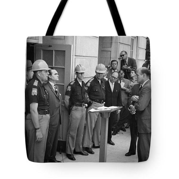 George C. Wallace Tote Bag by Granger