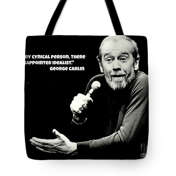 George Carlin Art  Tote Bag