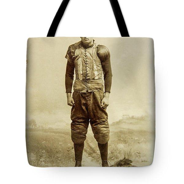 George Chadwick Yale Football 1897 Tote Bag