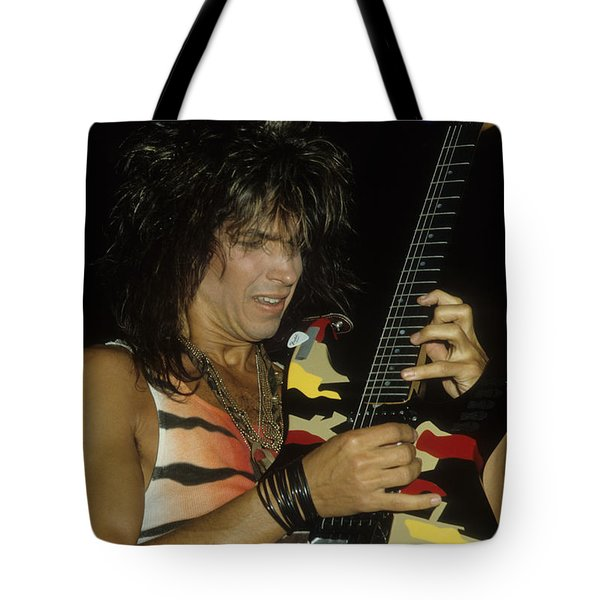 George Lynch Of Dokken Tote Bag