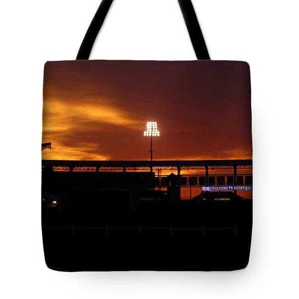George M Steinbrenner Field Tote Bag by David Lee Thompson