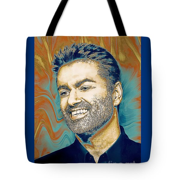 George Michael - Tribute  Tote Bag