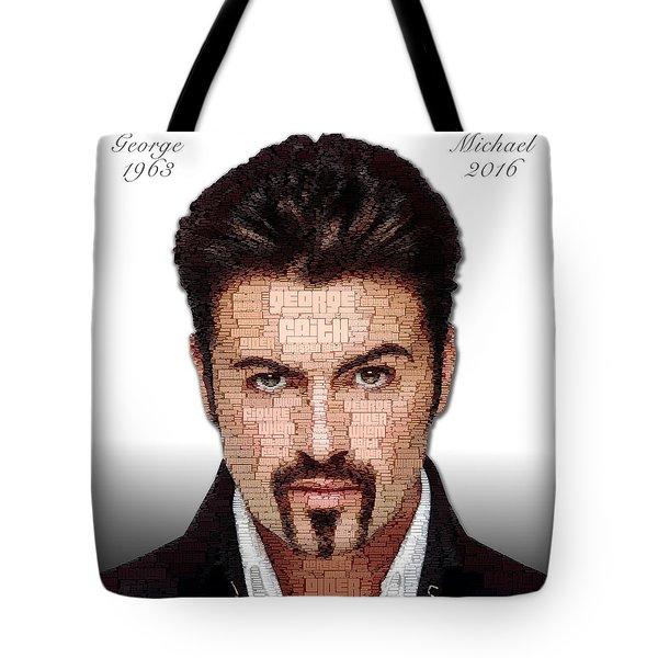 George Michael Tribute Tote Bag