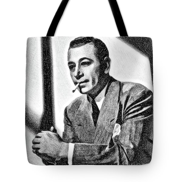George Raft, Vintage Actor By Js Tote Bag