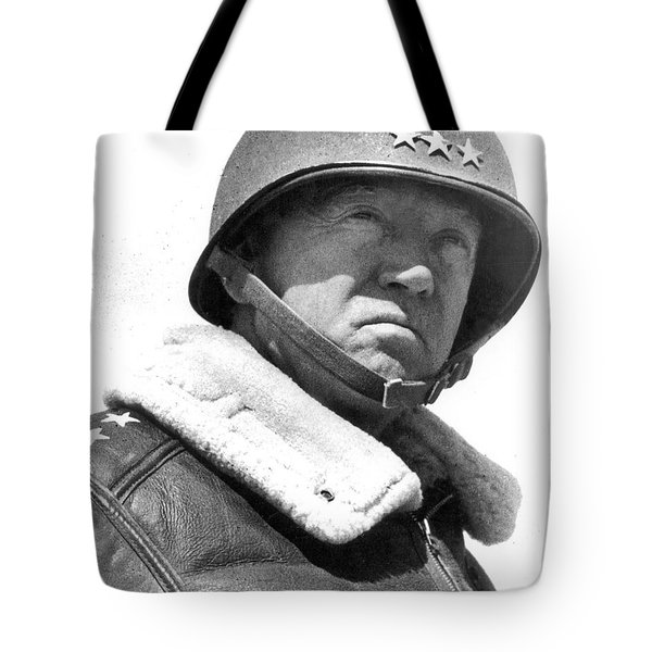 George S. Patton Unknown Date Tote Bag