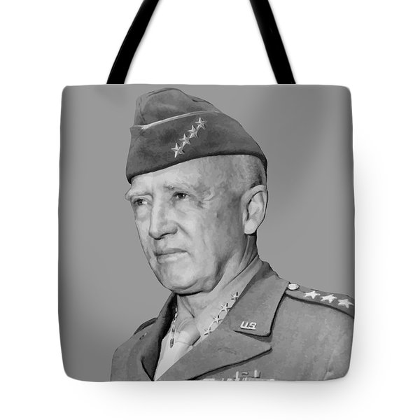 George S. Patton Tote Bag by War Is Hell Store