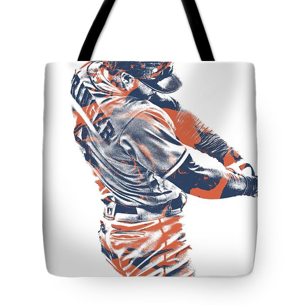 George Springer Houston Astros Pixel Art 33 Mixed Media By