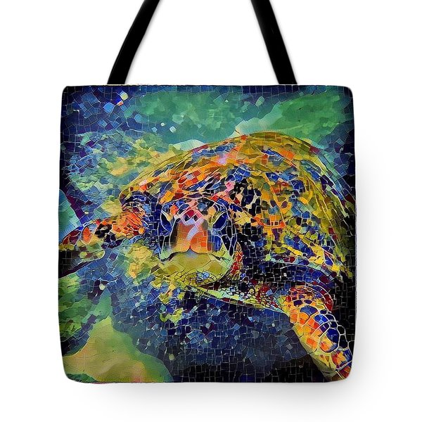 George The Turtle Tote Bag