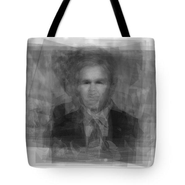 George W. Bush Tote Bag by Steve Socha