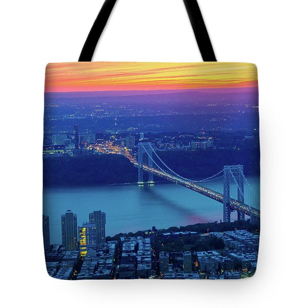 George Washington Bridge Tote Bag