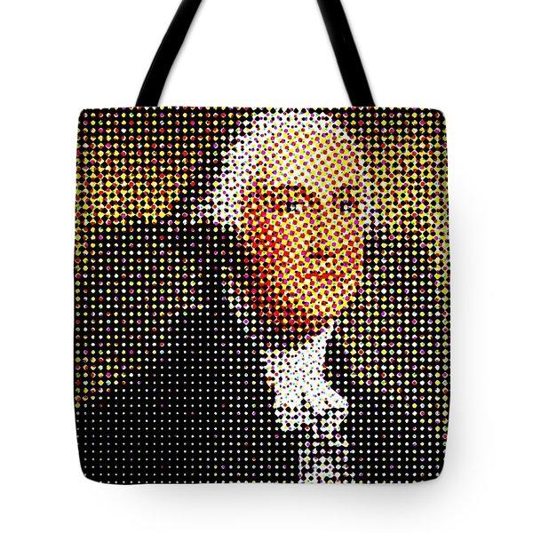 George Washington In Dots  Tote Bag