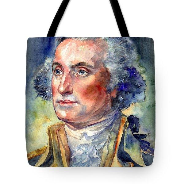 George Washington Portrait Tote Bag