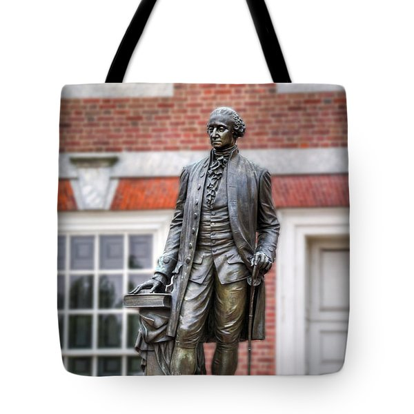 George Washington Statue Tote Bag