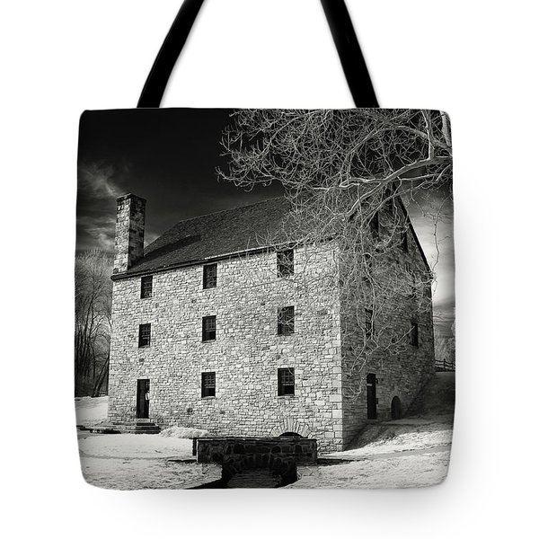 George Washingtons Gristmill Tote Bag by Paul Seymour