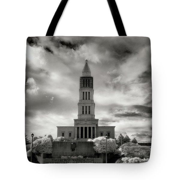 George Washinton Masonic Memorial Tote Bag