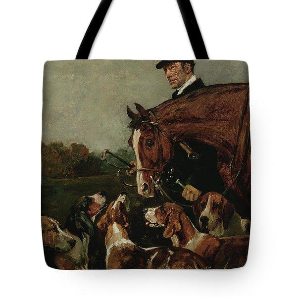 George Wateridge, Huntsman To The New Forest Buckhounds Tote Bag