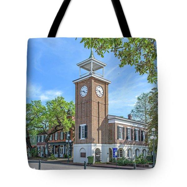 Georgetown Clock Tower Tote Bag