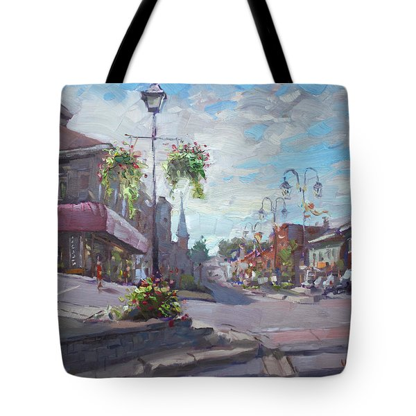 Georgetown Downtown Tote Bag