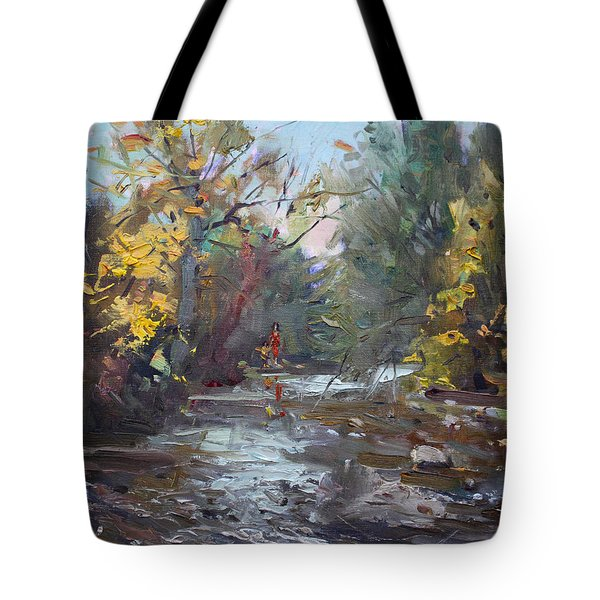 Georgetown Fall Colors Tote Bag