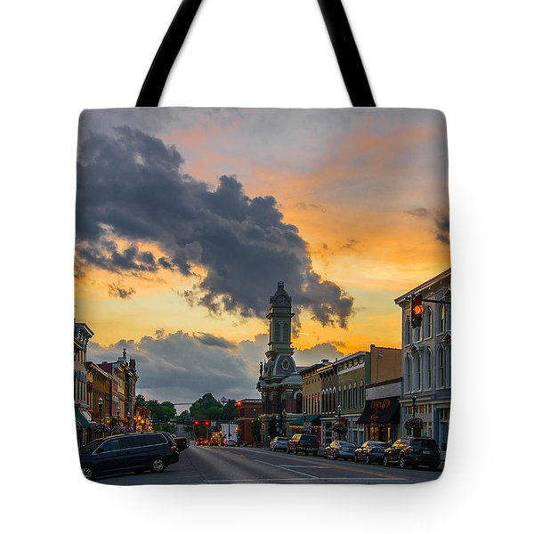 Georgetown Ky Summer Evening Tote Bag