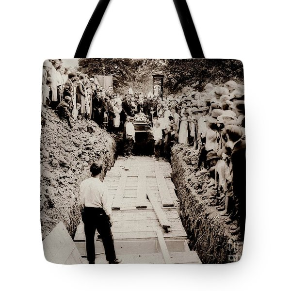 Georgetown Section Of Wilkes Barre Twp. June 5 1919 Tote Bag