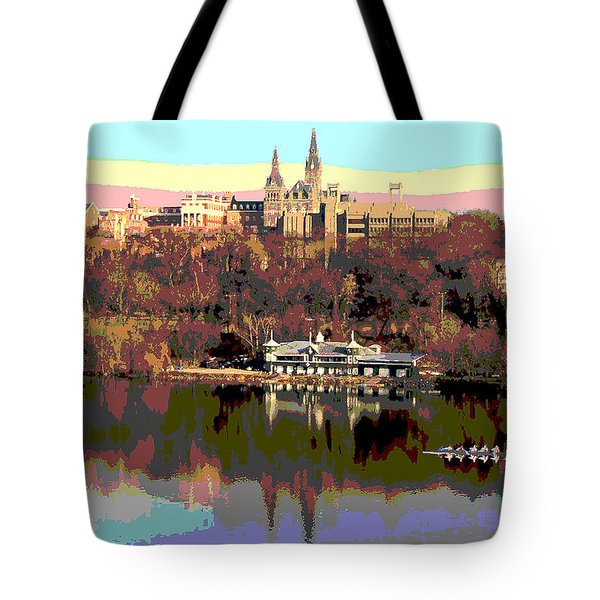 Georgetown University Crew Team Tote Bag