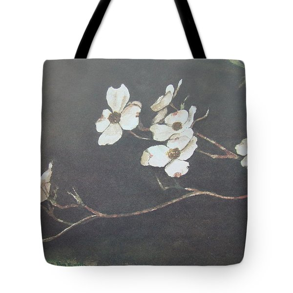 Georgia Dogwood Tote Bag by Charles Roy Smith