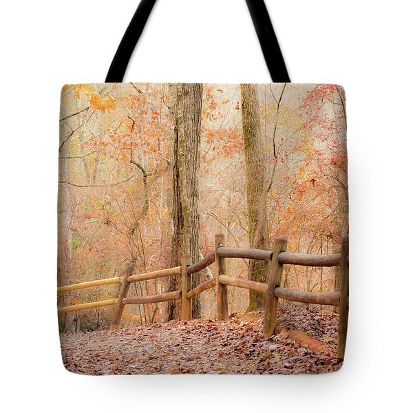 Tote Bag featuring the photograph Georgia Fall by RC Pics