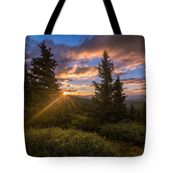 Georgia Pass Sun Rays Tote Bag