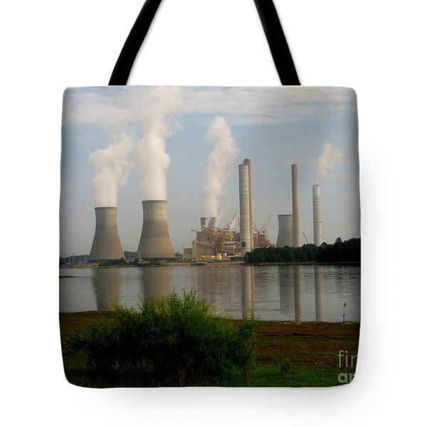 Georgia Power Plant Tote Bag