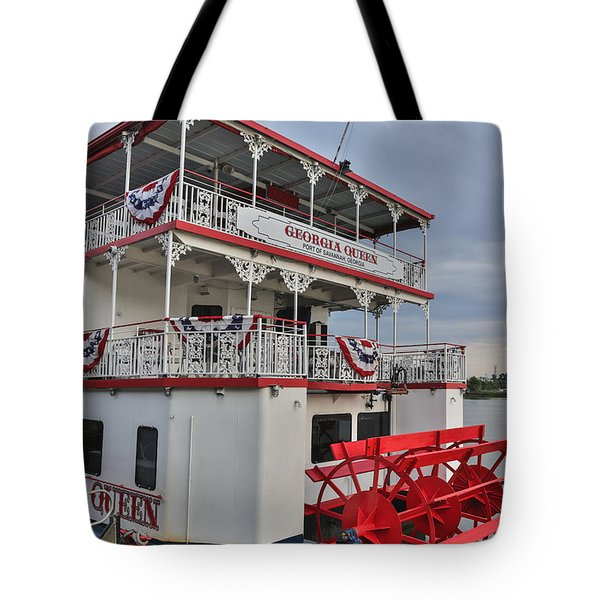 Georgia Queen Tote Bag