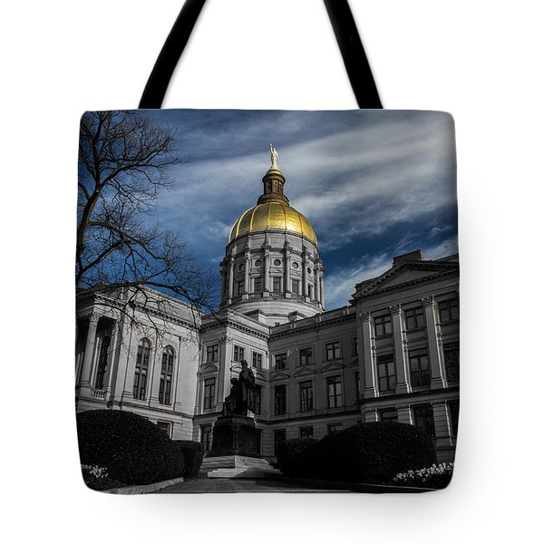 Georgia State Capital Tote Bag