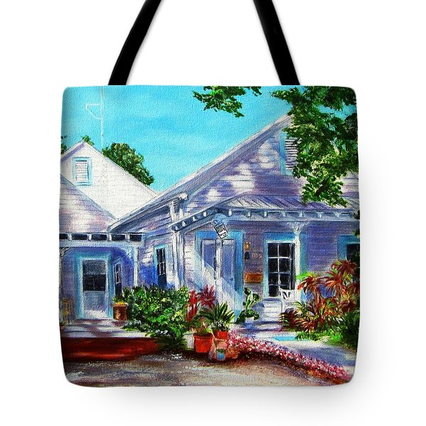 Georgia Street, Key West Tote Bag