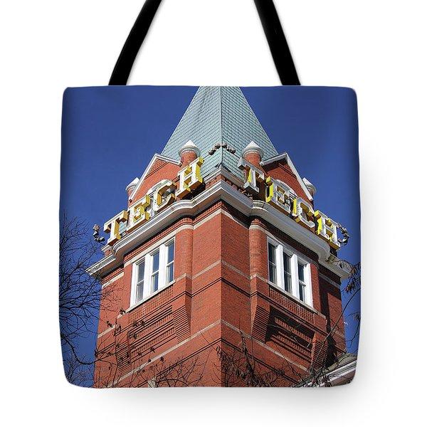 Georgia Tech Tower Tote Bag