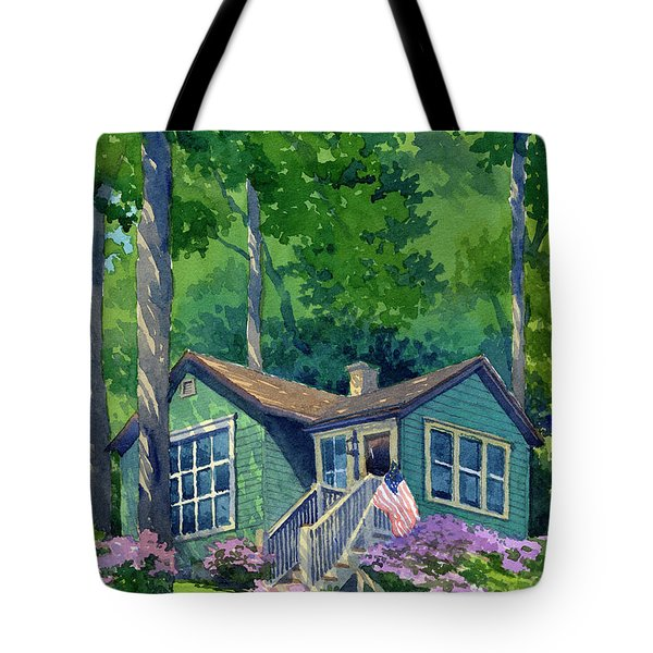 Georgia Townsend House Tote Bag