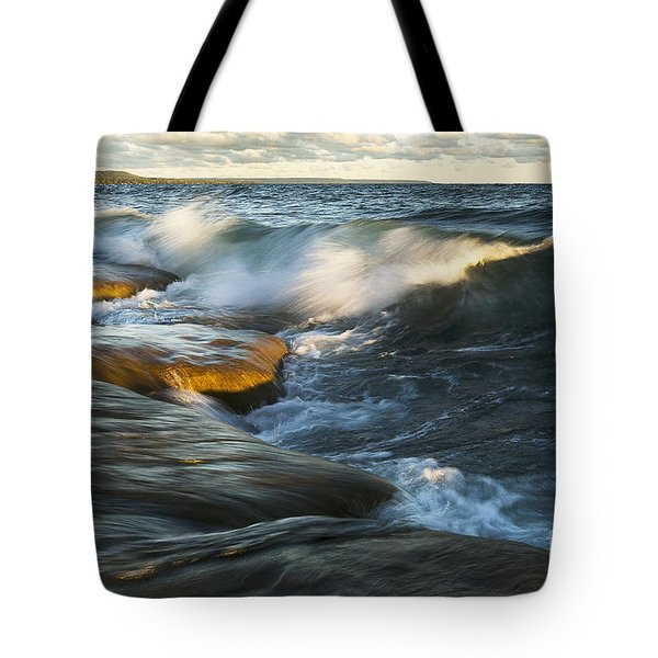 Georgian Bay Sunrise Tote Bag